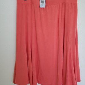 Torrid Peach Skirt